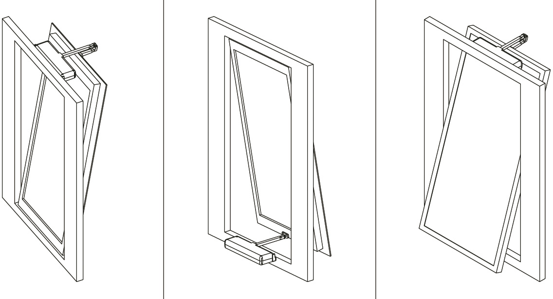 Automazione per finestre vasistas mf30 produttore made in italy - Finestra a vasistas ...