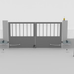 automazione cancello battente 3.5m