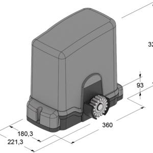 motore cancello industriale