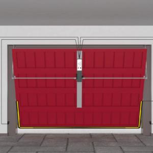automazione porta garage basculante
