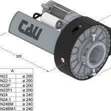 motoriduttore per serrande avvolgibili