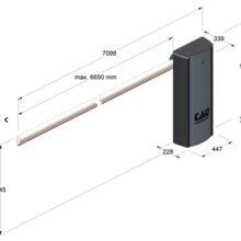 barriere automatiche sollevamento