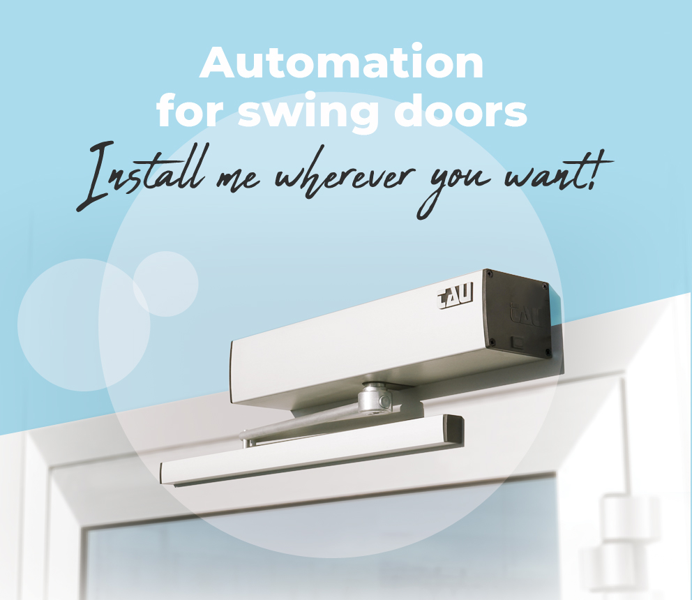 T-SIDE _ automation for swing doors