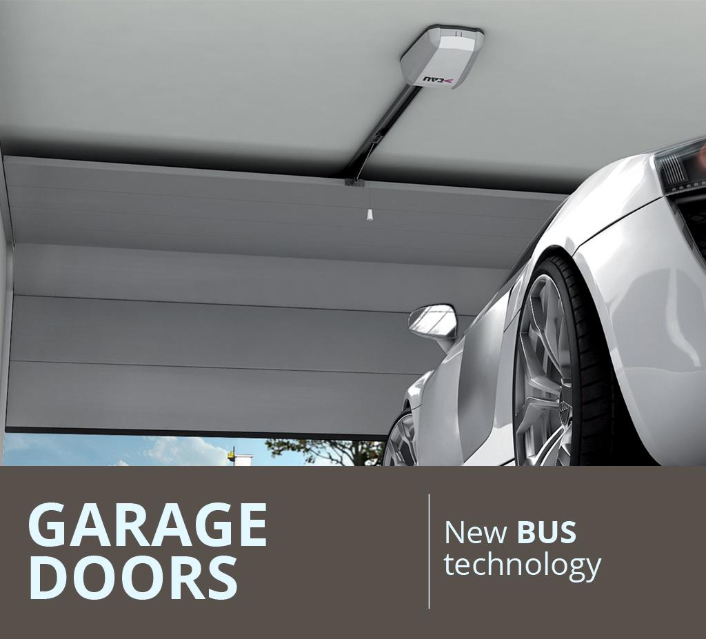 Garage Doors - New BUS technology